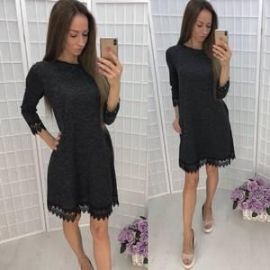 Платье короткое повседневное У1351