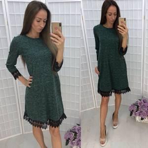 Платье короткое повседневное У1352