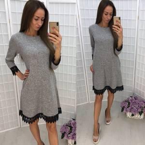 Платье короткое повседневное У1353