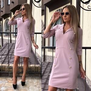 Платье короткое классическое элегантное У7414