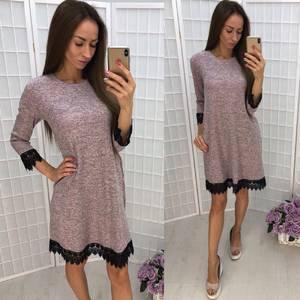 Платье короткое повседневное У1354