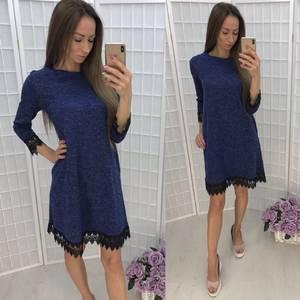 Платье короткое повседневное У1355