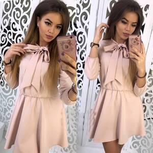 Платье короткое коктейльное современное Ф9893