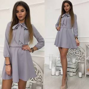 Платье короткое коктейльное современное Ф9894