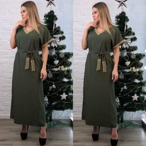 Платье длинное нарядное А23391