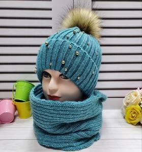 Шапка и шарф Хомут А24677