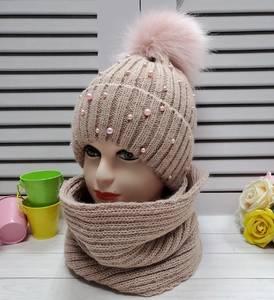 Шапка и шарф Хомут А24678