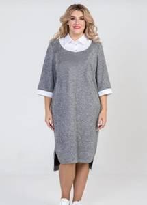Платье короткое повседневное А24585