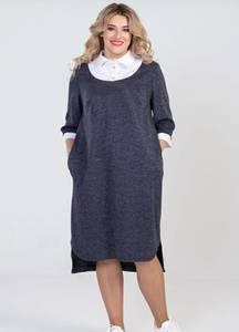 Платье короткое повседневное А24586