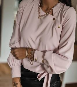 Блуза с длинным рукавом А25416