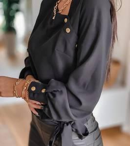 Блуза с длинным рукавом А25417