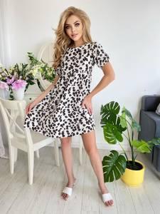 Платье короткое летнее А48719