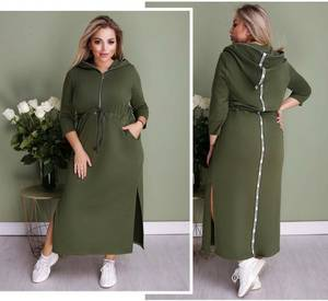 Платье длинное повседневное А36149