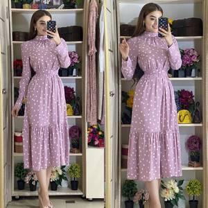 Платье длинное нарядное А23421
