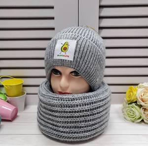 Шапка и шарф Хомут А24658