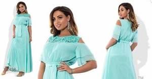 Платье длинное однотонное нарядное Х3997
