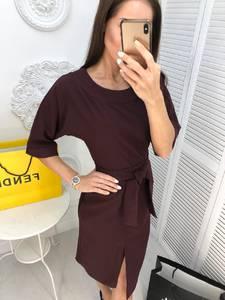 Платье короткое коктейльное современное Ф8075