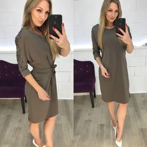 Платье короткое нарядное современное Ф3633