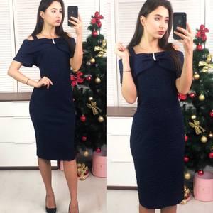 Платье короткое вечернее облегающее Ф8280