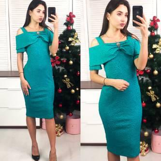 Платье короткое вечернее облегающее Ф8282