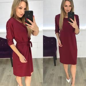 Платье короткое нарядное современное Ф3636