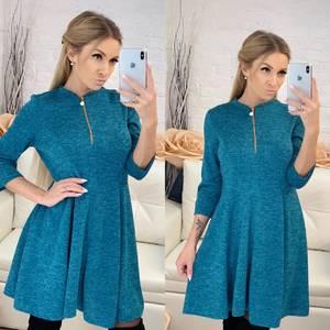 Платье короткое с рукавом 3/4 современное Ф8263