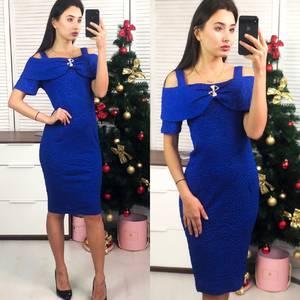 Платье короткое вечернее облегающее Ф8283