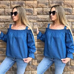 Блуза с длинным рукавом летняя Х0664