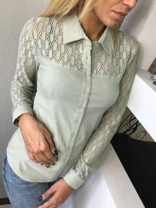 Рубашка однотонная Ф3478