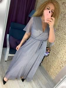Платье длинное нарядное А22031
