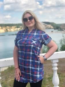 Рубашка с коротким рукавом Ч1161