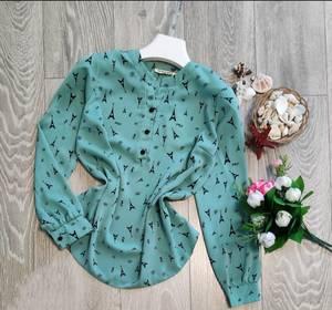Блуза с длинным рукавом А09506