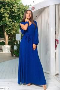 Платье длинное нарядное А14283