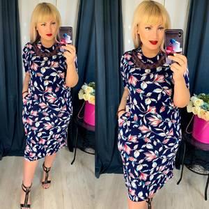 Платье короткое повседневное Я5108