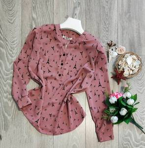 Блуза с длинным рукавом А09507