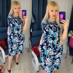 Платье короткое повседневное Я5109