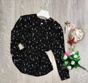 Блуза с длинным рукавом А09509