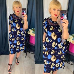 Платье короткое повседневное Я5114