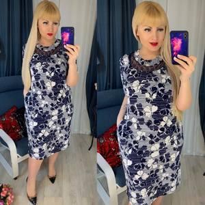 Платье короткое повседневное Я5115