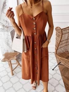 Платье длинное летнее А47304