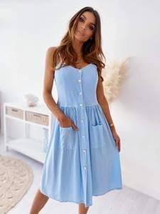 Платье длинное летнее А47305