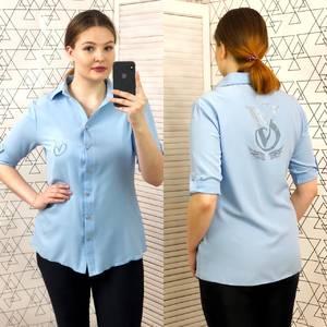 Рубашка с коротким рукавом Ц0423