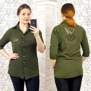 Рубашка с коротким рукавом Ц0424