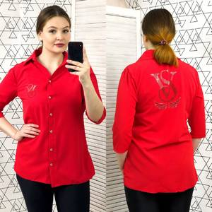 Рубашка с коротким рукавом Ц0425