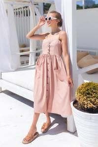 Платье длинное летнее А47309
