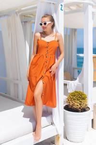 Платье длинное летнее А47311