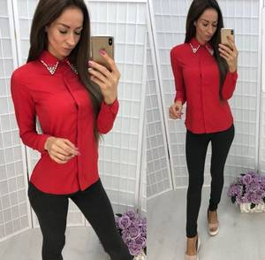 Рубашка красная Ш4339