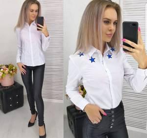 Рубашка белая Ш4386
