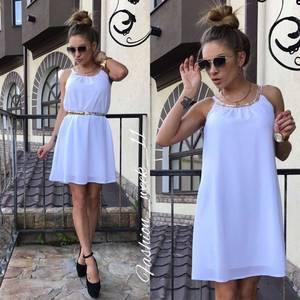 Платье  короткое летнее У1579