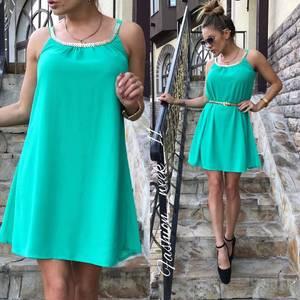 Платье  короткое летнее У1580